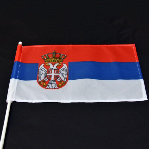 Državna zastava Srbije za auto