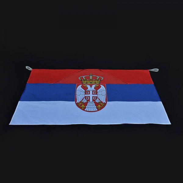 Zastava body fun Srbija za leđa