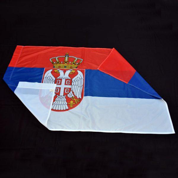 Zastava Srbije materijal poliester.