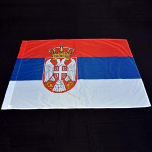 Zastava Srbije, nacionalna, poliester.