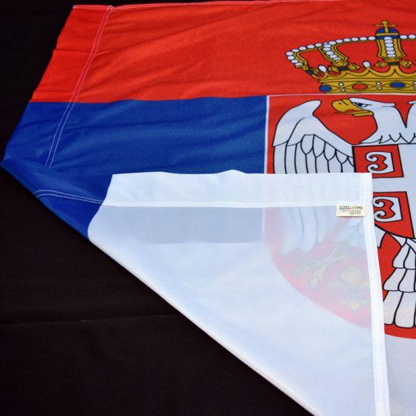 Zastava Srbije poliester GMT.