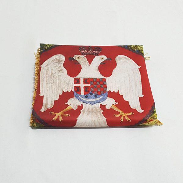 Zastava za kralja i otadžbinu štampa
