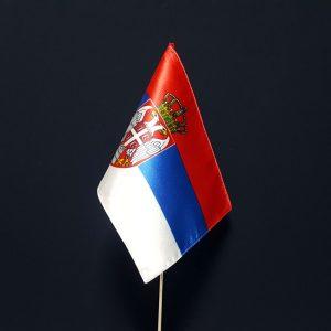 Stone zastave Srbije od krep satena.