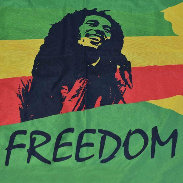 Zastava Bob Marley Freedom