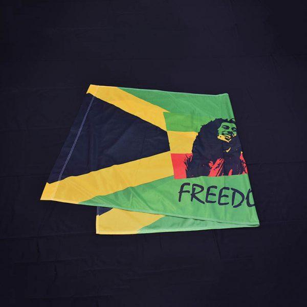 Zastava Bob Marley obostrana štampa