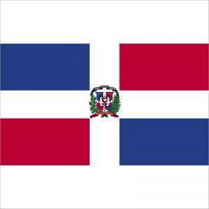 zastava dominikanske republike