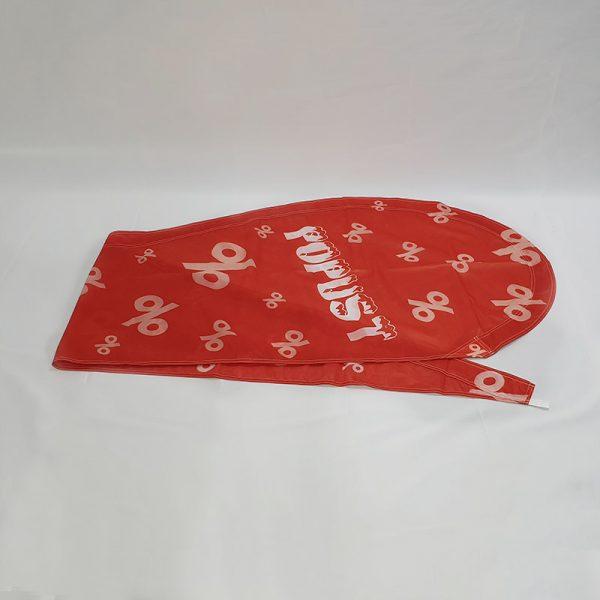 "Beach Flag ""Popust"" crvena boja | GMT prodaja"