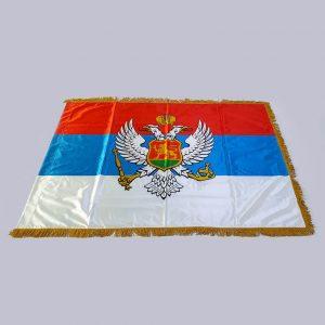 Zastava Kraljevine Crne Gore saten 1 zastaveshop GMT Company