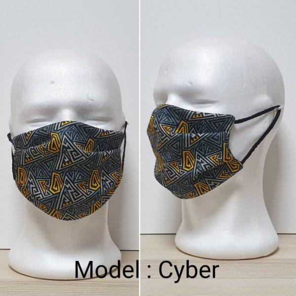 Maska za lice Fashion print Model Cyber zastaveshop