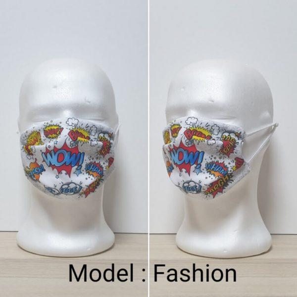 Maska za lice Fashion print Model Fashion zastaveshop