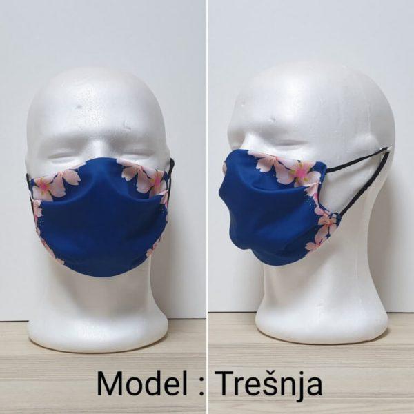 Maska za lice Fashion print Model Tresnja zastaveshop