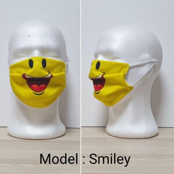 Maska za lice - Print sa ustima Model Smiley zastaveshop