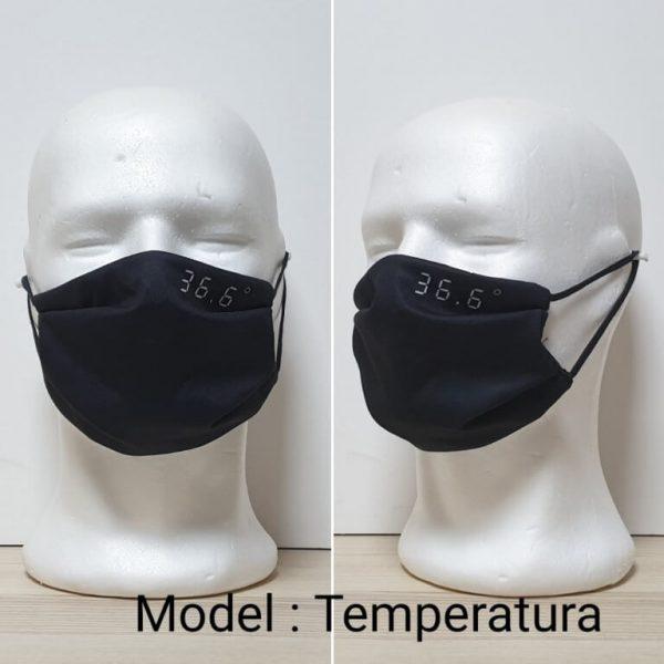 Maska za lice - Print sa ustima Model Temperatura zastaveshop