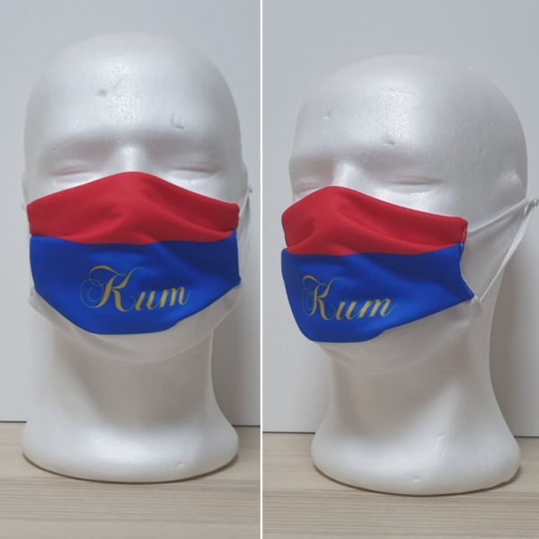 Maska za lice - za venčanja Model Kum zastaveshop