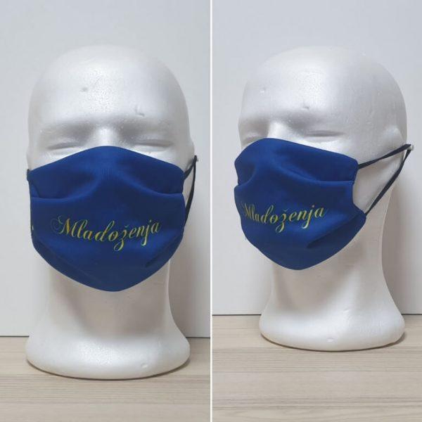 Maska za lice - za venčanja Model Mladozenja zastaveshop