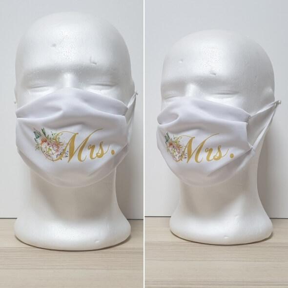 Maska za lice - za venčanja Model Mrs 1 zastaveshop