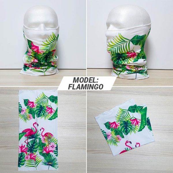 Bandan marama Animal print model Flamingo zastaveshop GMT Company