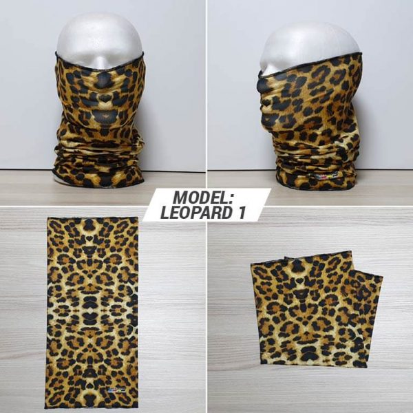 Bandan marama Animal print model Leopard 1 zastaveshop GMT Company