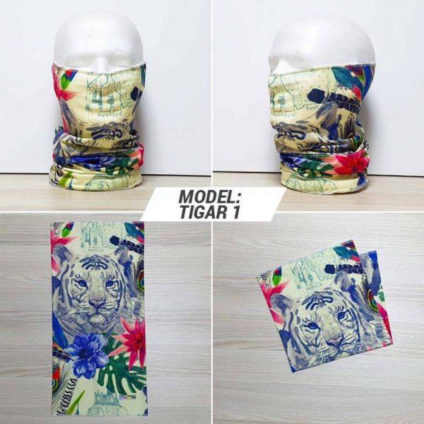 Bandan marama Animal print model Tigar zastaveshop GMT Company