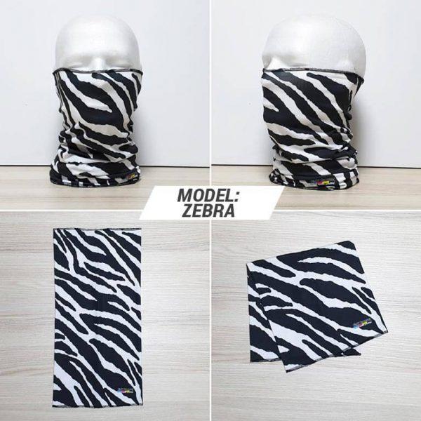 Bandan marama Animal print model Zebra zastaveshop GMT Company