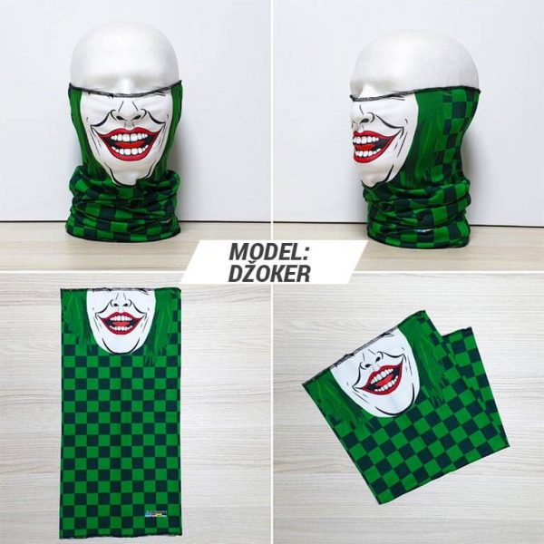 Bandan marama Face print model Dzoker zastaveshop GMT Company