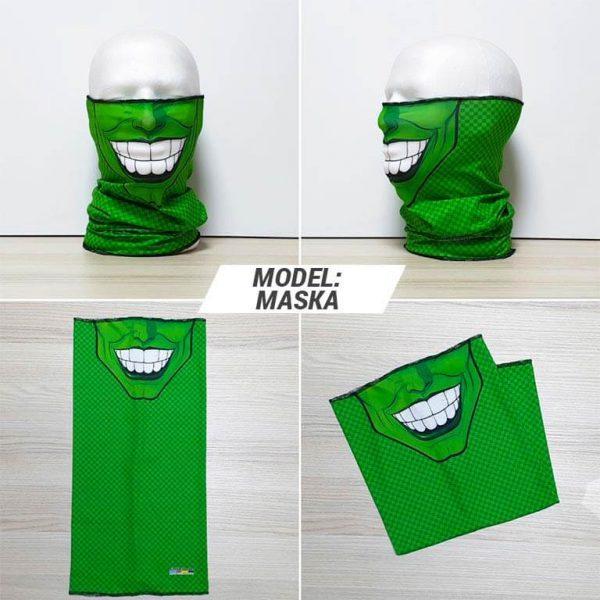 Bandan marama Face print model Maska zastaveshop GMT Company