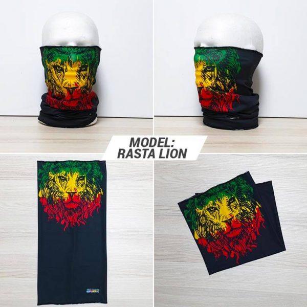 Bandan marama Face print model Rasta Lion zastaveshop GMT Company