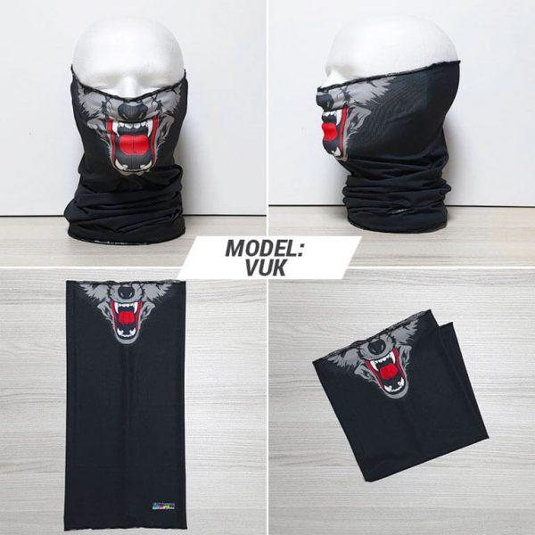 Bandan marama Face print model Vuk zastaveshop GMT Company