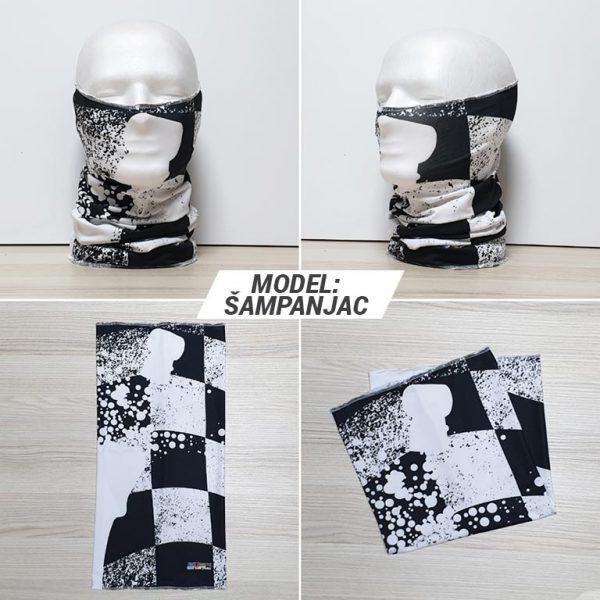 Bandan marama Fashion print model Sampanjac zastaveshop gmt company