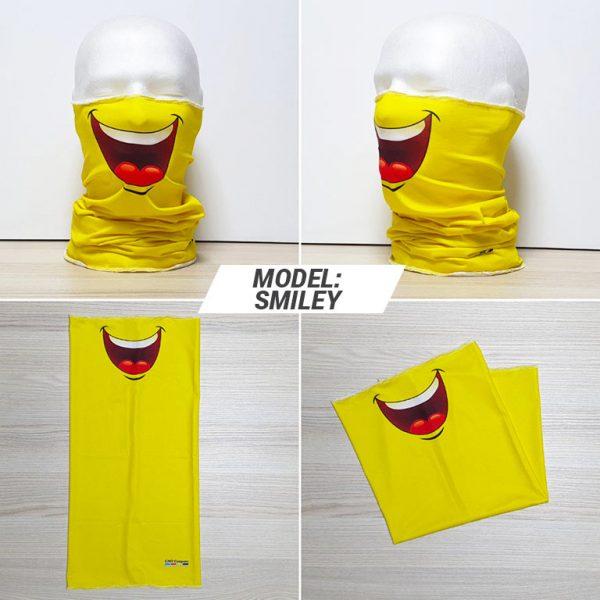 Bandan marama Fashion print model Smiley zastaveshop gmt company