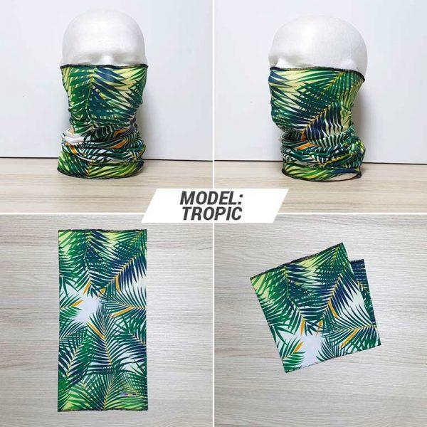 Bandan marama Fashion print model Tropic zastaveshop gmt company