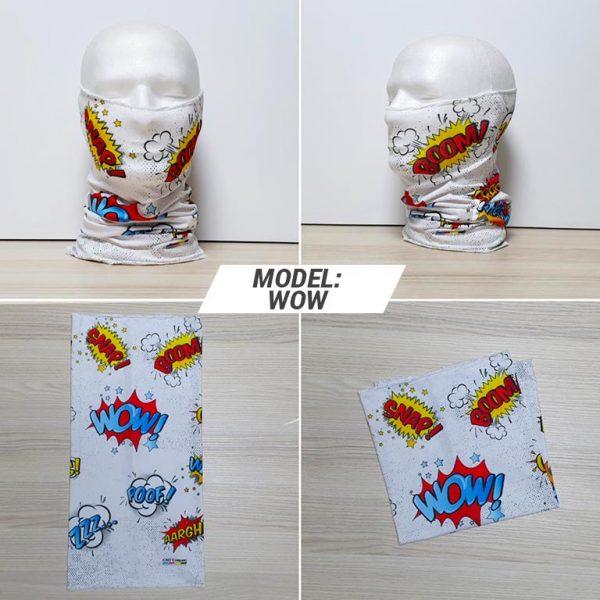 Bandan marama Fashion print model WOW zastaveshop gmt company
