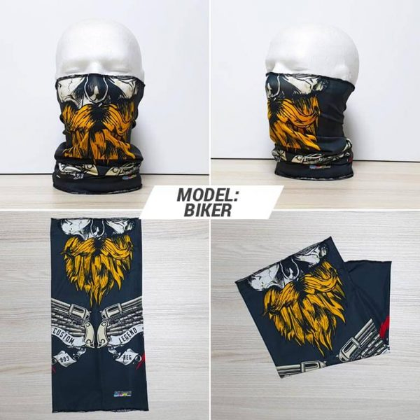 Bandan marama Heads print model Biker zastaveshop GMT Company