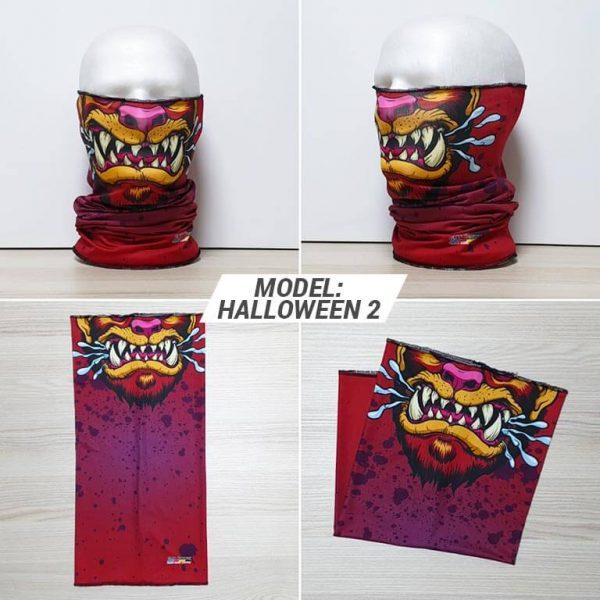 Bandan marama Heads print model Halloween 2 zastaveshop GMT Company