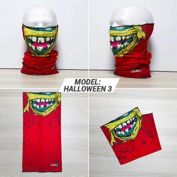 Bandan marama Heads print model Halloween 3 zastaveshop GMT Company