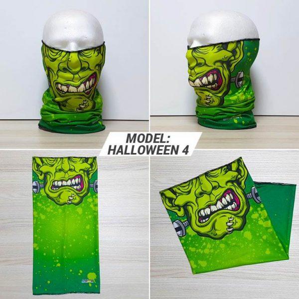 Bandan marama Heads print model Halloween 4 zastaveshop GMT Company