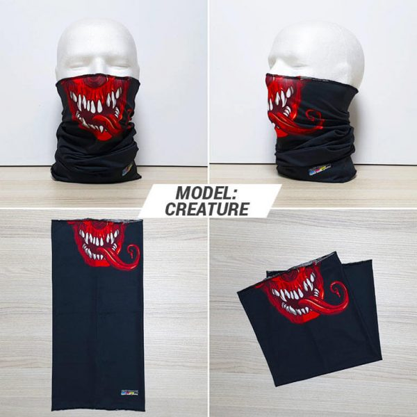 Bandan marama Skull print model Creature zastaveshop GMT Company