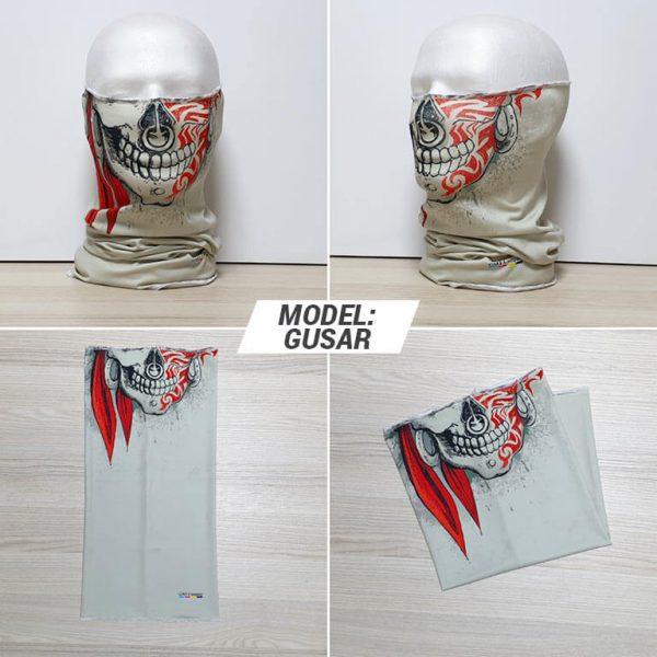 Bandan marama Skull print model Gusar zastaveshop GMT Company