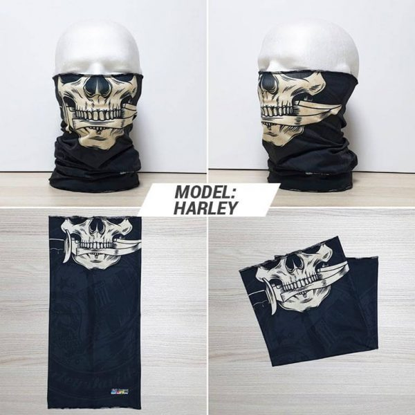 Bandan marama Skull print model Harley zastaveshop GMT Company