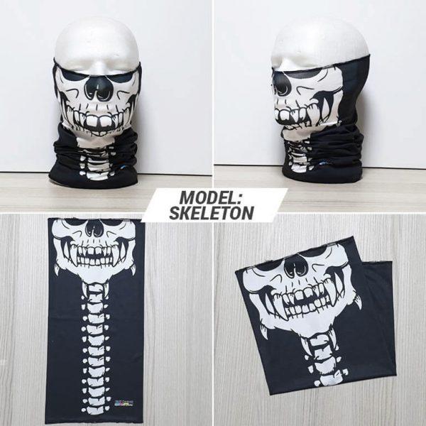 Bandan marama Skull print model Skeleton zastaveshop GMT Company