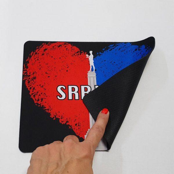 Mousepad Srbija srce 2 zastaveshop GMT Company