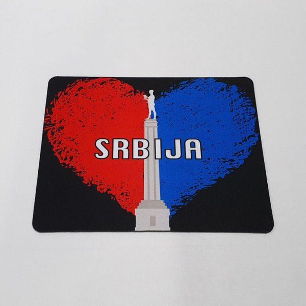 Mousepad Srbija srce 3 zastaveshop GMT Company