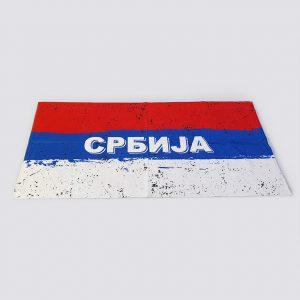 Peškir sa štampom Srbija ćirilica zastaveshop GMT Company