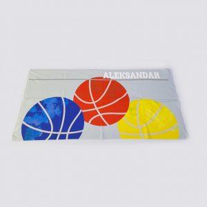 Peškir sa štampom sport košarka zastaveshop GMT Company
