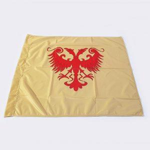 Zastava Nemanjića Dušanovog Carstva poliester zlatna 1 zastaveshop GMT Company