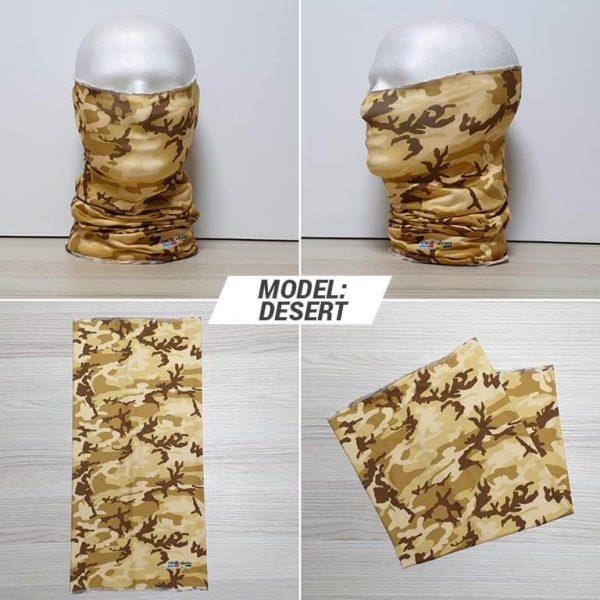 Bandan marama Military print model Desert zastaveshop GMT Company