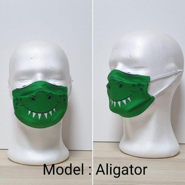 Maska za lice - Dečiji print Model Aligator zastaveshop