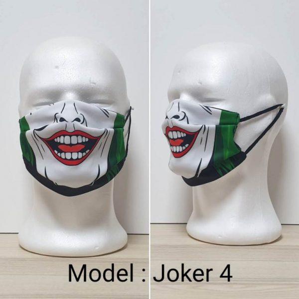 Maska za lice - Skull print model Joker 4 zastaveshop