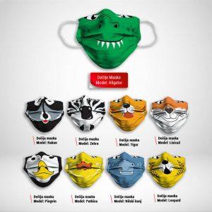 Maska za lice katalog Deciji print zastaveshop