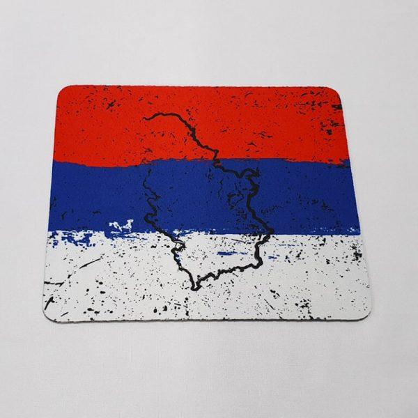 Mousepad Srbija karta 2 zastaveshop GMT Company
